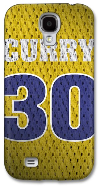 Stephen Curry Golden State Warriors Retro Vintage Jersey Closeup Graphic Design Galaxy S4 Case