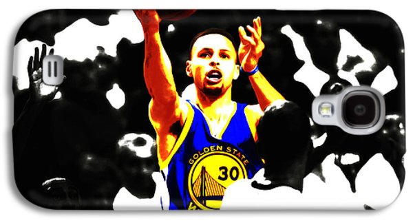 Stephen Curry Smooth As Ice Galaxy S4 Case by Brian Reaves