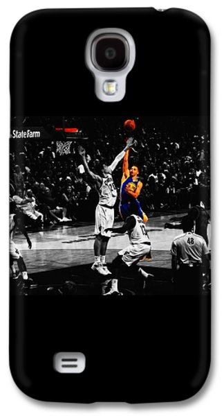 Stephen Curry Soft Touch Galaxy S4 Case by Brian Reaves