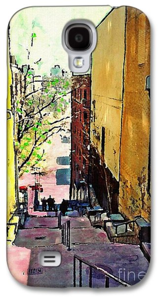 Steps At 187 Street Galaxy S4 Case