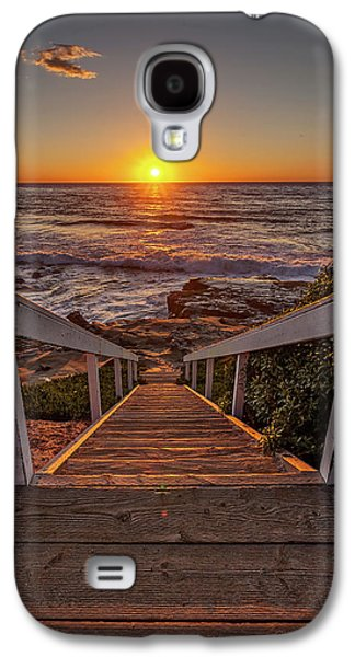 Steps To The Sun  Galaxy S4 Case by Peter Tellone