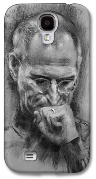 Apple Galaxy S4 Case - Steve Jobs by Ylli Haruni