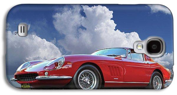 Steve Mcqueen's, 1967 Ferrari 275 Gtb/4, Vanity Plates Galaxy S4 Case