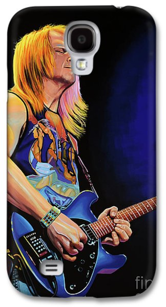 Steve Morse Painting Galaxy S4 Case by Paul Meijering