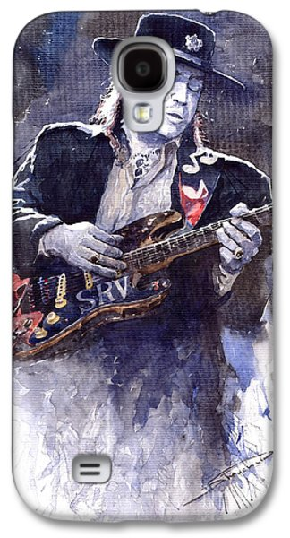 Stevie Ray Vaughan 1 Galaxy S4 Case by Yuriy  Shevchuk