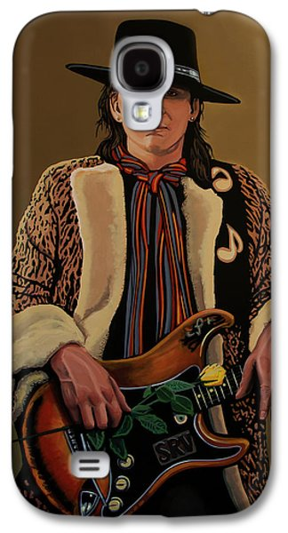 Stevie Ray Vaughan 2 Galaxy S4 Case by Paul Meijering