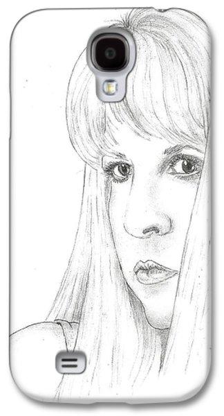 Stevie  Galaxy S4 Case by Steven White