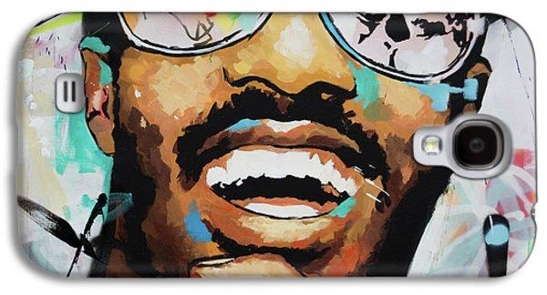 Stevie Wonder Portrait Galaxy S4 Case