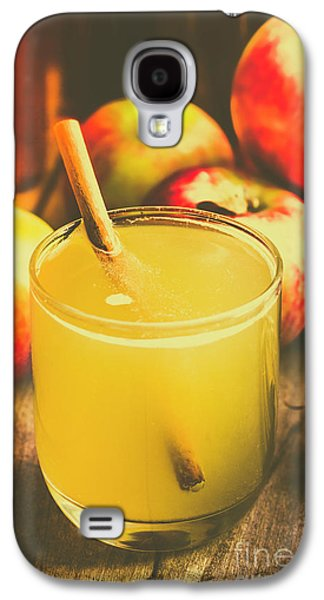 Orchid Galaxy S4 Case - Still Life Apple Cider Beverage by Jorgo Photography - Wall Art Gallery