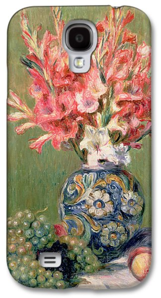 Still Life Of Fruits And Flowers Galaxy S4 Case by Pierre Auguste Renoir