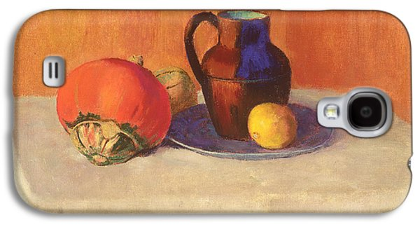 Still Life With A Pitcher Galaxy S4 Case by Odilon Redon