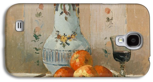 Still Life With Apples And Pitcher, 1872  Galaxy S4 Case by Camille Pissarro