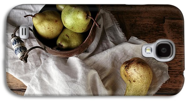Still-life With Arrangement Of Pears  Galaxy S4 Case by Nailia Schwarz