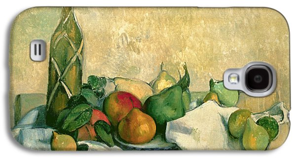 Still Life With Bottle Of Liqueur Galaxy S4 Case by Paul Cezanne