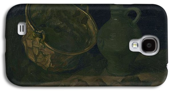 Still Life With Brass Cauldron And Jug, 1885 Galaxy S4 Case by Vincent Van Gogh