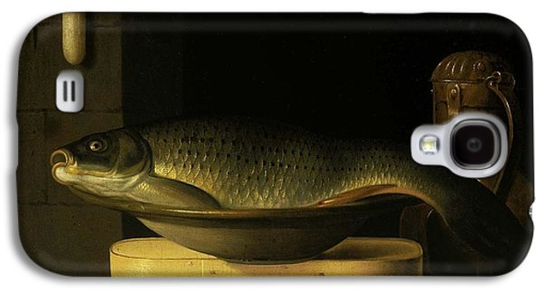 Still Life With Carp  Galaxy S4 Case by MotionAge Designs