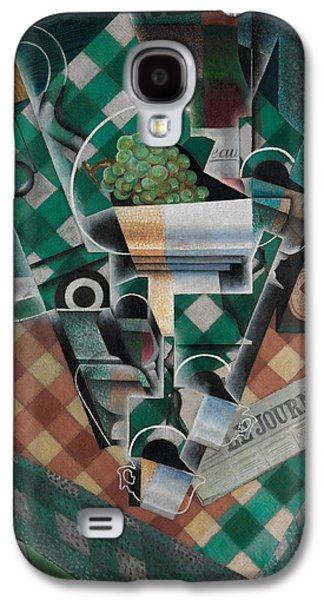 Still Life With Checked Tablecloth Galaxy S4 Case by Juan Gris