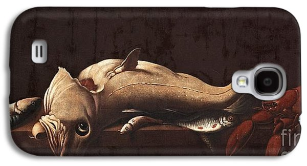 Still Life With Fish And Lobster Galaxy S4 Case by MotionAge Designs