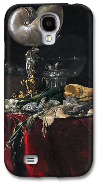 Still Life With Fish Galaxy S4 Case by MotionAge Designs