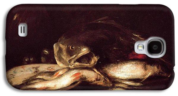 Still Life With Fish Galaxy S4 Case by William Merritt