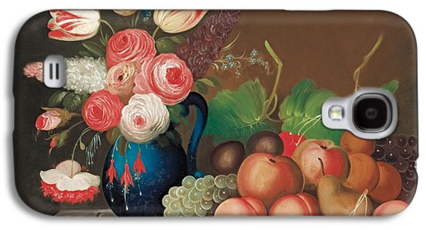 Still Life With Fruit And Flowers Galaxy S4 Case