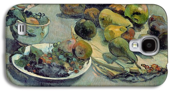 Still Life With Fruit Galaxy S4 Case by Paul Gauguin