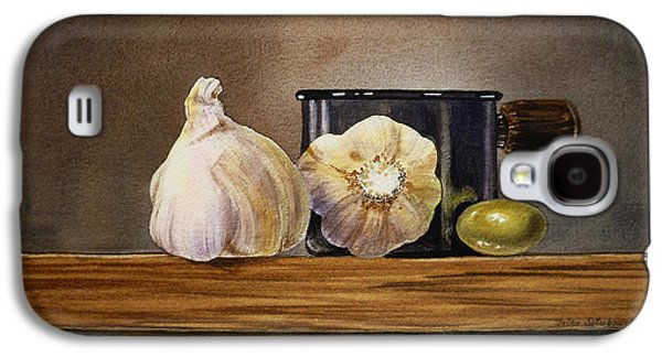 Still Life With Garlic And Olive Galaxy S4 Case