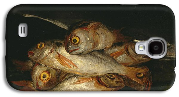 Still Life With Golden Bream Galaxy S4 Case by Francisco Goya