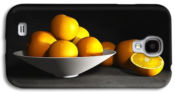 Still Life With Oranges Galaxy S4 Case by Cynthia Decker