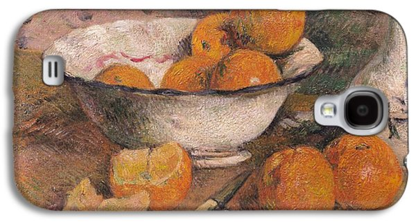 Still Life With Oranges Galaxy S4 Case by Paul Gauguin