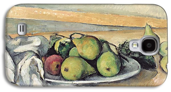 Still Life With Pears Galaxy S4 Case by Paul Cezanne