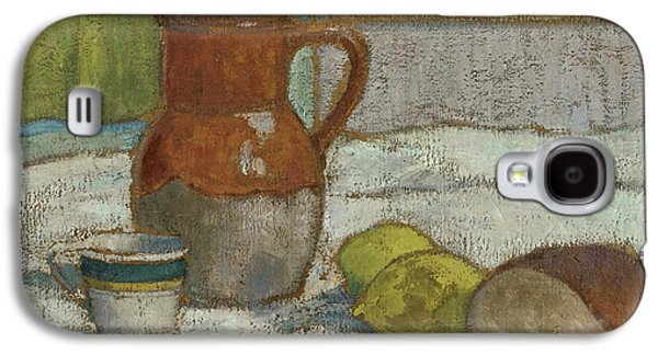 Still Life With Pitcher And Cup Galaxy S4 Case by Emile Bernard