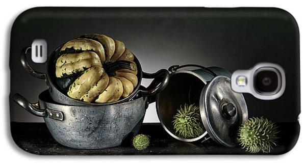 Still Life With Pumpkin Galaxy S4 Case by Nailia Schwarz