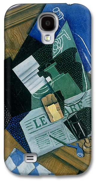 Still Life With Water Bottle, Bottle And Fruit Dish, 1915 Galaxy S4 Case
