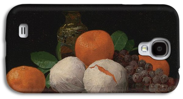 Still Life With Wrapped Tangerines Galaxy S4 Case by Celestial Images