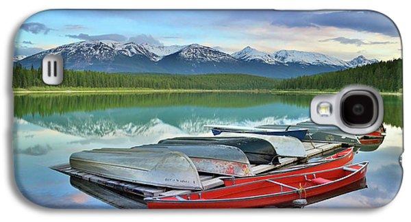 Still Waters At Lake Patricia Galaxy S4 Case by Tara Turner