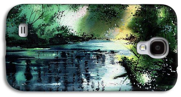 Stillness Speaks 2 Galaxy S4 Case by Anil Nene