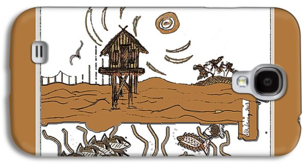 Waterscape Galaxy S4 Case - Stilt House by W Gilroy