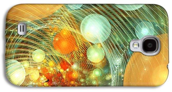 Stirred Up Universe Galaxy S4 Case by Anastasiya Malakhova