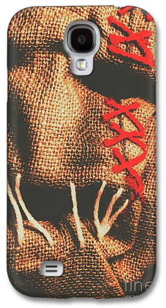 Stitched Up Madness Galaxy S4 Case by Jorgo Photography - Wall Art Gallery