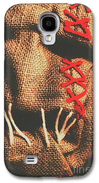 Shock Galaxy S4 Case - Stitched Up Madness by Jorgo Photography - Wall Art Gallery