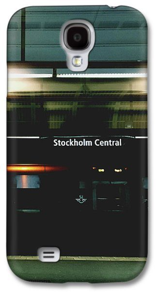 Train Galaxy S4 Case - Stockholm Central- Photograph By Linda Woods by Linda Woods