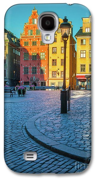 Stockholm Stortorget Square Galaxy S4 Case by Inge Johnsson
