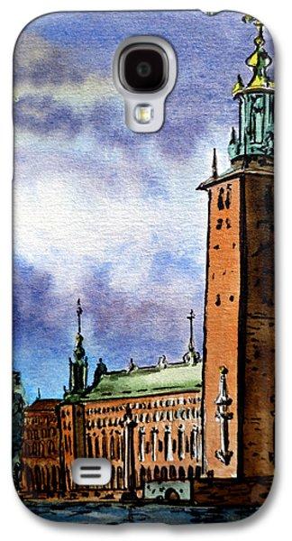 Stockholm Sweden Galaxy S4 Case
