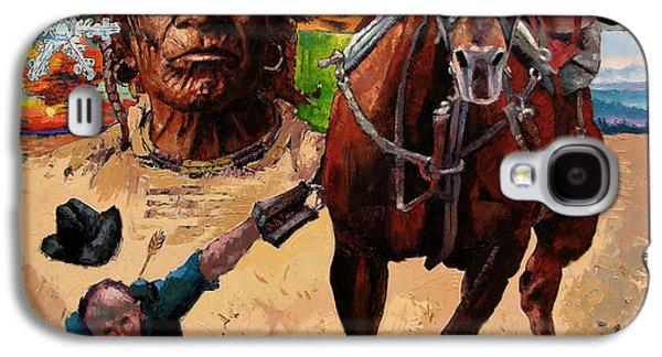 Stolen Land Galaxy S4 Case by John Lautermilch