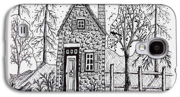 Stone Cottage Galaxy S4 Case by Karla Gerard