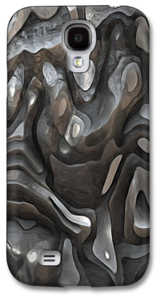 Stone Or Metal Forms Galaxy S4 Case by Jack Zulli