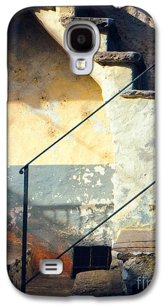 Stone Steps Outside An Old House Galaxy S4 Case by Silvia Ganora