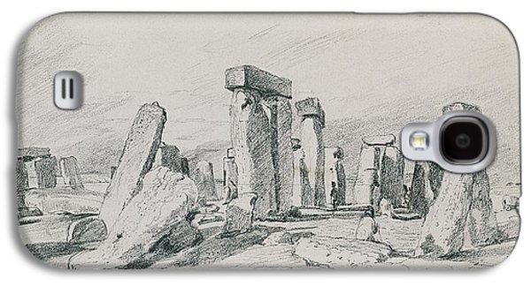 Stonehenge Wiltshire Galaxy S4 Case by John Constable