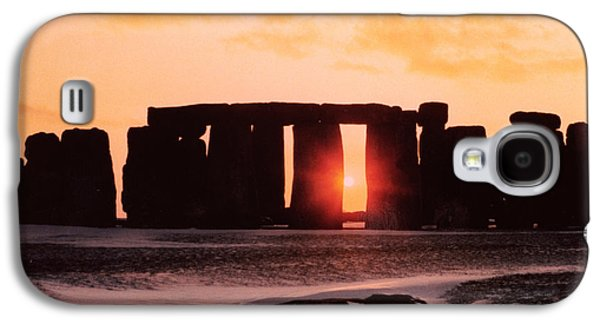 Stonehenge Winter Solstice Galaxy S4 Case by English School